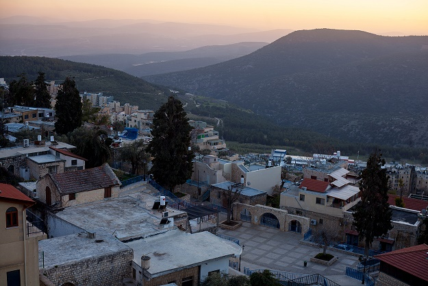 Golan Heights And Safed